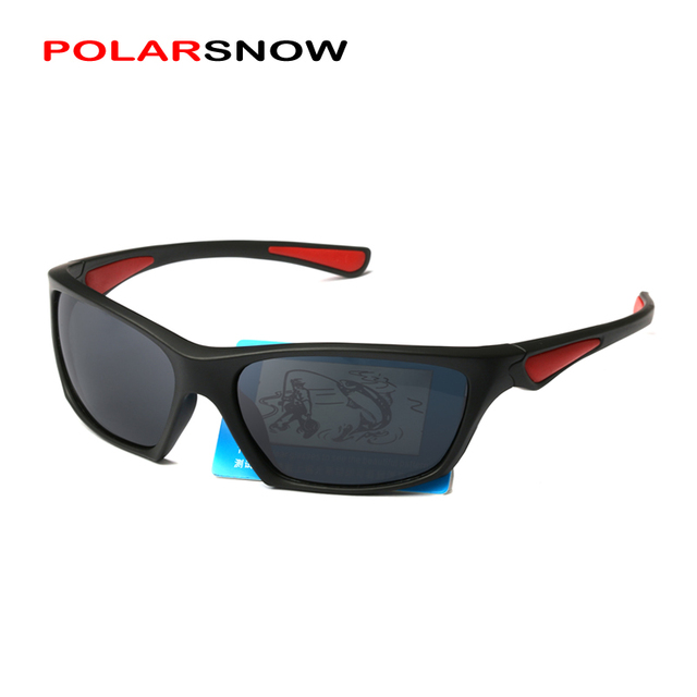 0ca5a919a065b POLARSNOW 2017 Esporte Óculos De Sol Para Homens Lente Polarizada óculos de Sol  Masculino Óculos de