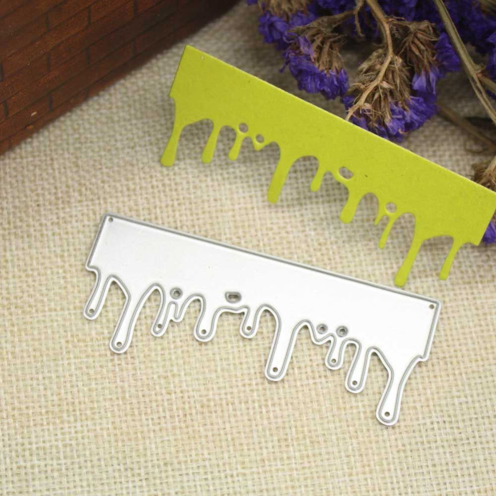Christmas Snow Icicle Metal Cutting Dies Stencils Xmas ...