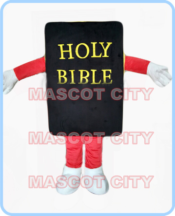 mascot holy bible book mascot costume adult size cartoon book theme anime cosplay costumes holiday charity activity dresses 2573