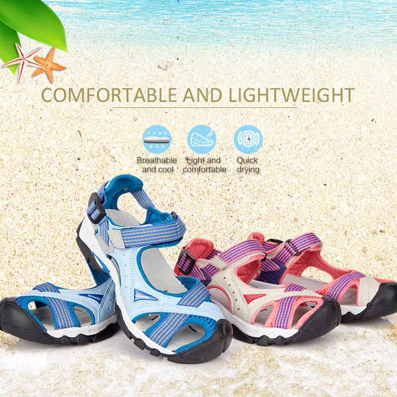 2018 Clorts Women Sandals Anti-slipping Quick-drying Outdoor Sandals Soft Water Shoes Beach Sandals for Women SD-202 infant baby nursery soft smooth bath security cute bear toy blanket
