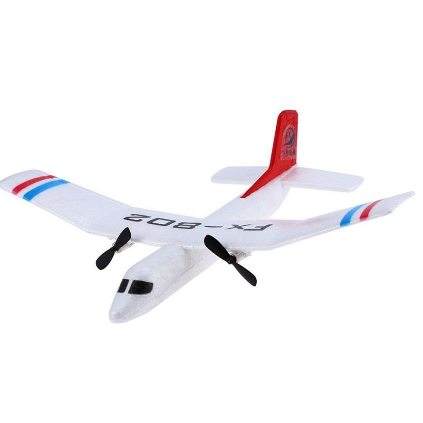Flybear FX - 802 2.4GHz 2 Channel EPP Fixed-wing Aircraft Front-pull Dual Propel Remote Quadcopter REMOTE CONTROL TOYS