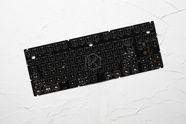 Image 2 - xd87 XD87 XD80 Custom Mechanical Keyboard Kit 80% Supports TKG TOOLS Support Underglow RGB PCB programmed gh80 kle type cKeyboards   - AliExpress