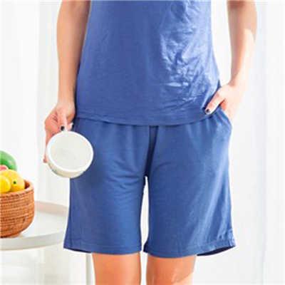 Большие размеры, летние шорты из модала для сна, Женские однотонные повседневные шорты для сна, женские пижамные штаны большого размера