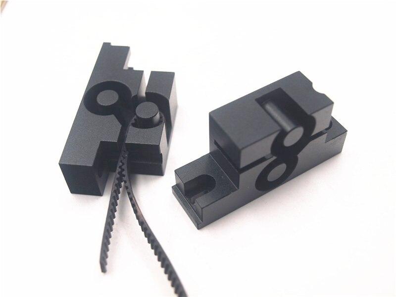 Funssor upgrade metal aluminum alloy Y axis belt holder timing belt tension for Reprap Prusa i3 MK2 3D printer hictop 5 meters gt2 timing belt for reprap 3d printer prusa i3