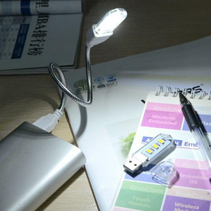 все цены на For PC Laptops Computer Mobile Power Charger portable Reading Night Bulb USB 3 LEDs Book light 5730 Camping lamp онлайн