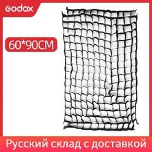"Godox 60x90 سنتيمتر/24 ""x 36"" استوديو الصور العسل الشبكة ل ستروب فلاش مظلة الفوتوغرافي Softbox (الشبكة فقط)"