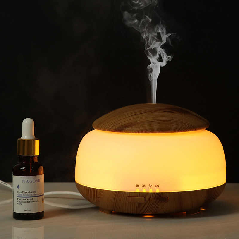 DEKAXI 300ml Essential Oil Diffuser Air Humidifier Aromatherapy กลิ่น Aroma Diffuser Mist Maker ด้วย Night Light สำหรับ Home