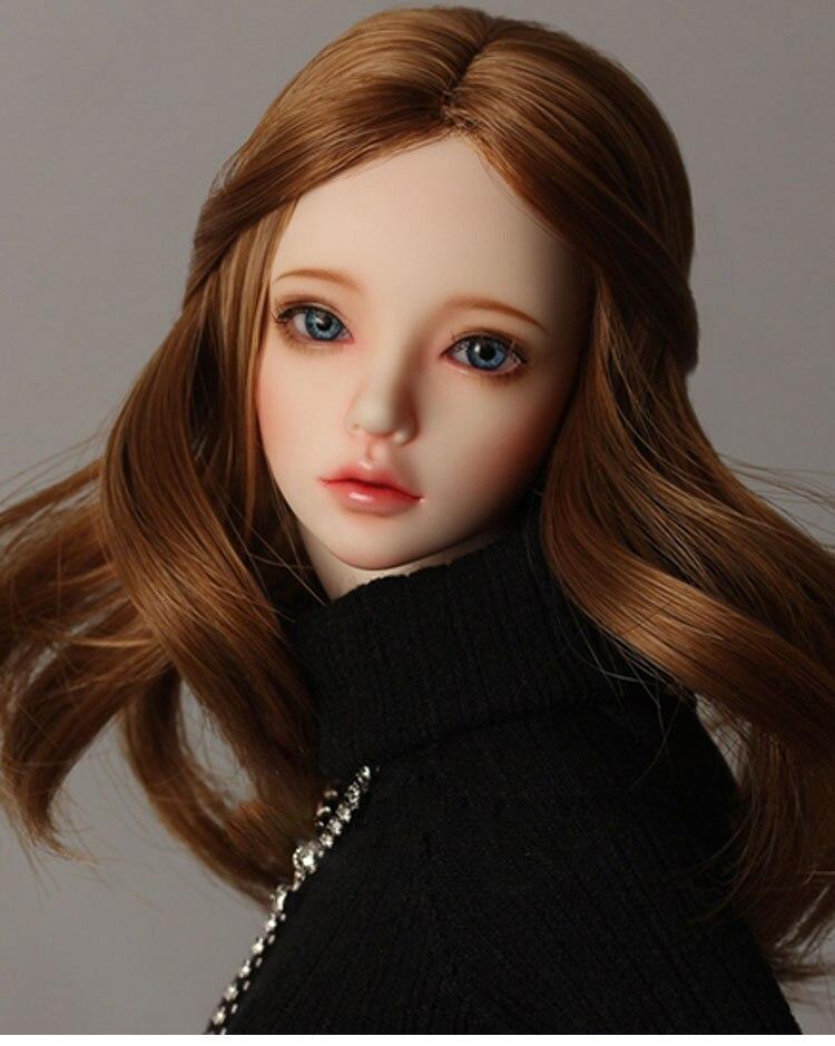 Regalo de juguete modelo de resina de muñeca con junta SD de chica BJD desnuda de 1/4, no incluye ropa, zapatos, peluca y otros accesorios D2116-in Muñecas from Juguetes y pasatiempos    3