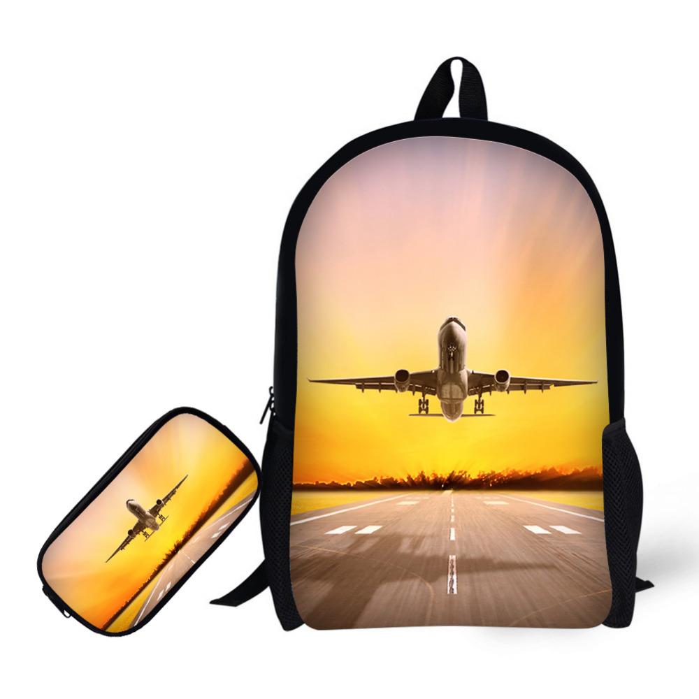 For, Softback, Printing, Set, School, Backpack