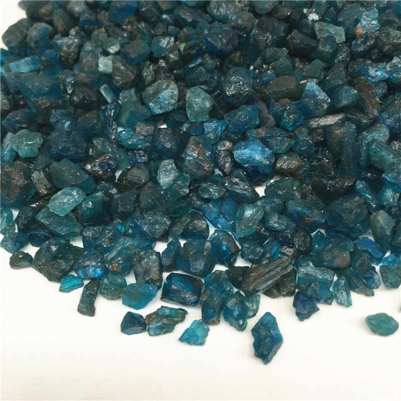 50g Natural Small size Raw Blue Apatite Rough Stones Crystal
