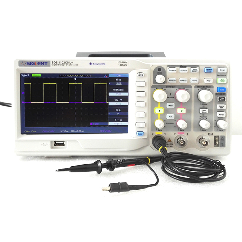 Digital Oscilloscope SIGLENT SDS1102CNL 100MHz 2CH USB Device
