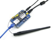 Parts WIFI232 RJ45 Ethernet Port Serial Port WIFI to UART USB to UART WIFI Module +Antenna