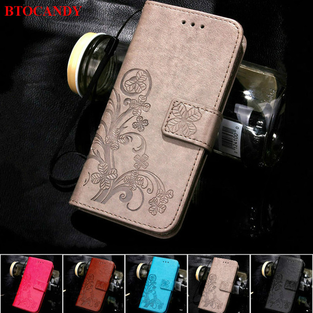 For iPhone X 8 Plus 7 4S 5S 6S 6 Leather Flip Case For Samsung Galaxy S8 S6 S7 Edge A3 A5 2017 J7 J5 J3 2016 J1 Mini J2 Prime