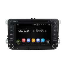 "7 ""Android 6.0 octa-core Reproductores multimedia para coches para VW Passat magotan Caddy 2006-2012 navegación GPS video del coche audio Estéreo mapa"