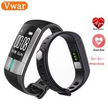 Vwar G20 мониторинг ЭКГ Smart Band Приборы для измерения артериального давления Часы Heart Rate Смарт-фитнес трекер Браслет Smart Watch для IOS Android
