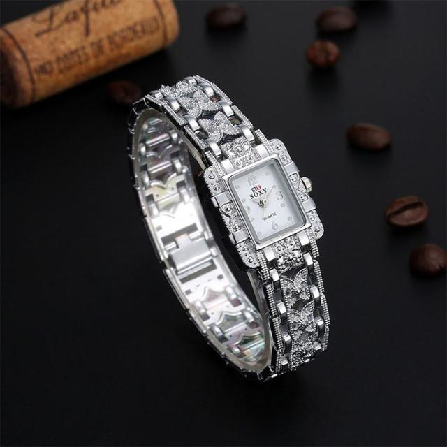 #5001 Leisure High Quality Woman Watch Bracelet Wrist Watch Women Girl Gift
