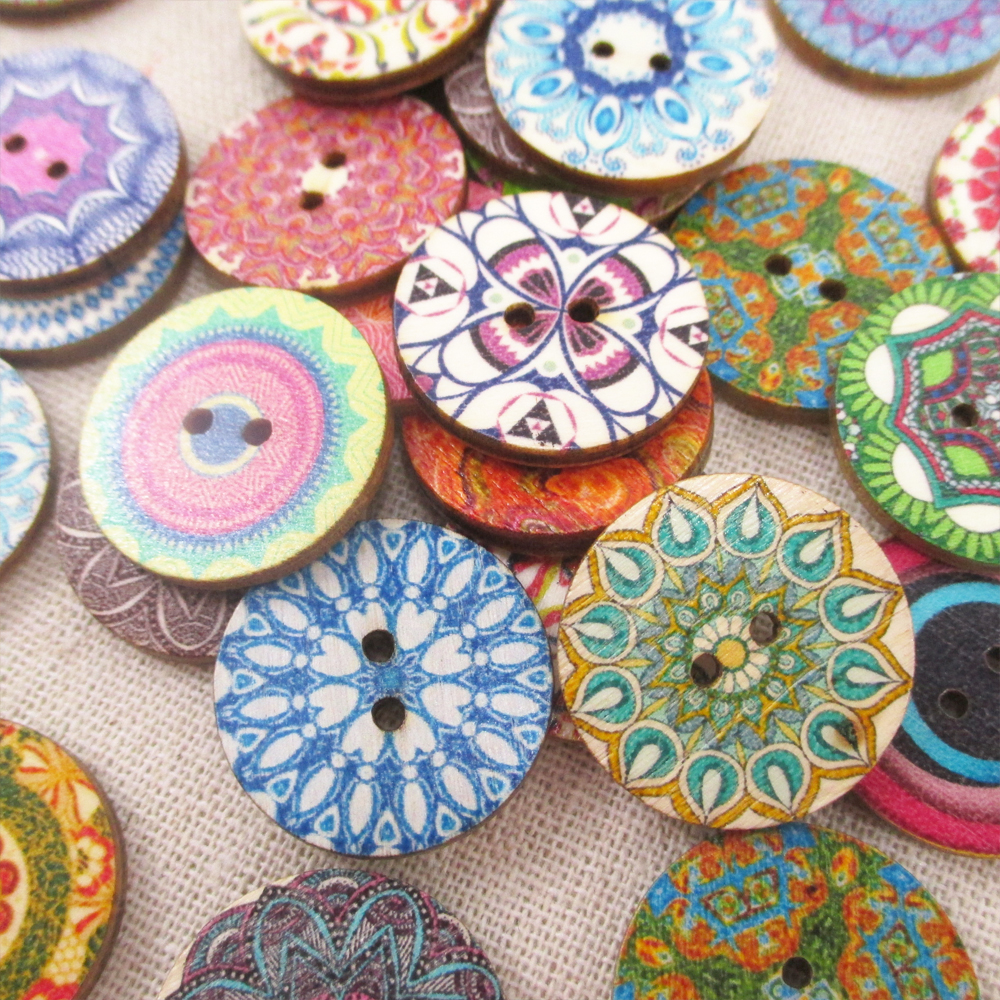 circular wooden button owl elephant butterfly decorative On decorative buttons for crafts