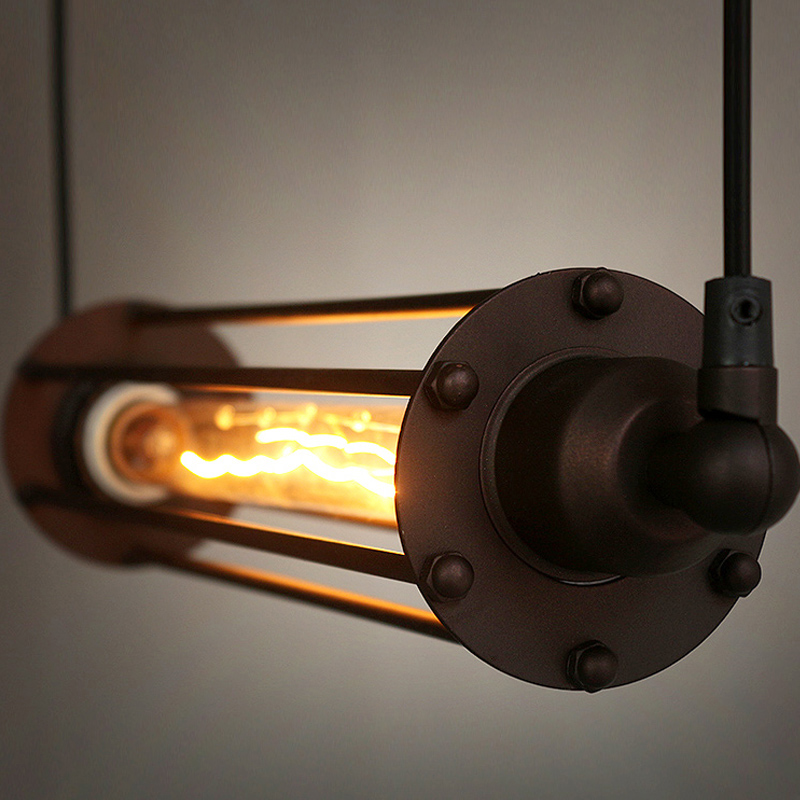 Industrial Pendant Lights Loft Suspension Luminaire Vintage Lamp