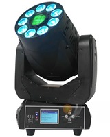 90W Spot LED moving Head light with 9x12W RGBWA+UV 6in1 LEDs Dj Equipment