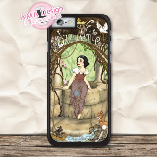 Lovely Snow White Classic Phone Cover Case For iPhone X 8 7 6 6s Plus 5 5s SE 5c 4 4s For iPod Touch