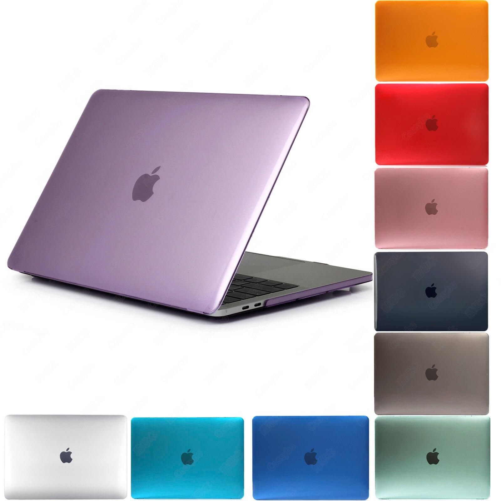"Purple Rubberized Hard Case Shell For Apple Macbook AIR//PRO//RETINA 11/"" 13/"" 15/"""