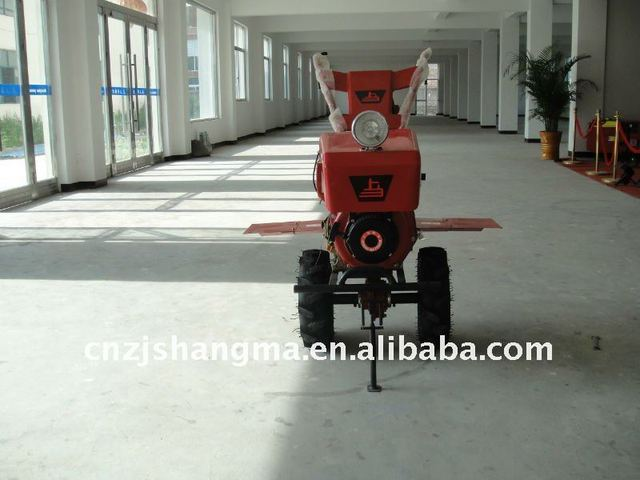 mini air cooled power tiller with 6HP for cultivating