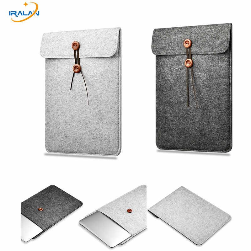 2019 nouvelle housse en feutre de laine pour Apple Macbook Air Pro Retina 11 12 13 15 13.3 pouces pochette pour ordinateur portable housse de protection