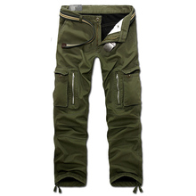 drop shipping 2020 new men winter pants mens cargo pants baggy trousers 3 colors 28 40 without belt AXP112