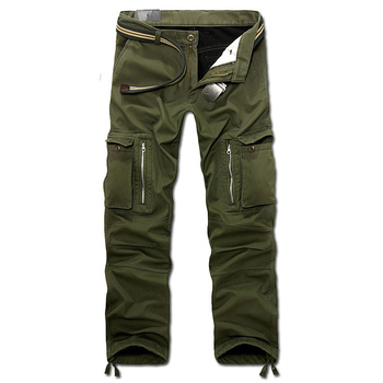 drop shipping 2020 new men winter pants mens cargo baggy trousers 3 colors 28-40 without belt AXP112