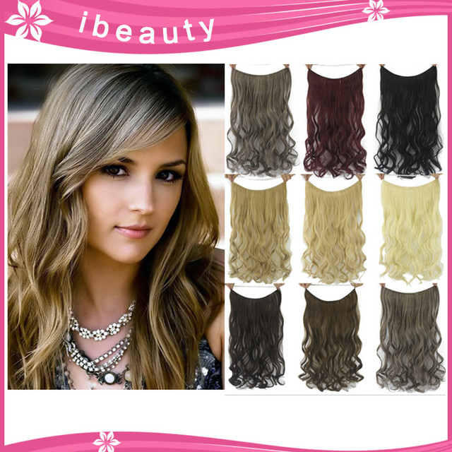 Free Shipping Hairpiece 60cm Flip In Invisible