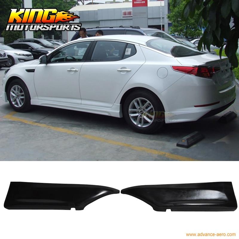 Fit For 10 12 Kia Optima K5 Rear Bumper Lip Splitters