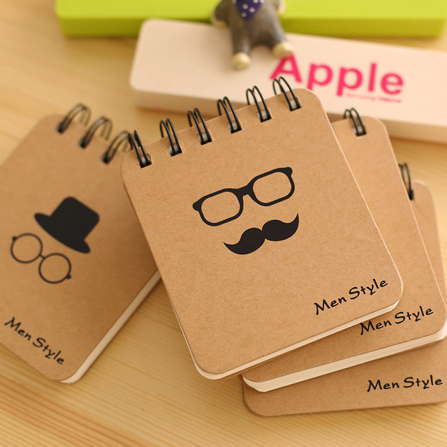Funny Printed Paper Mini Notebook