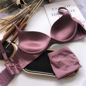 Image 1 - חדש נשים לדחוף את חזיית חוט פחות משלוח Br עבור נשים נוח Bralette נאספה גבירותיי אינטימי ללבוש בגדים