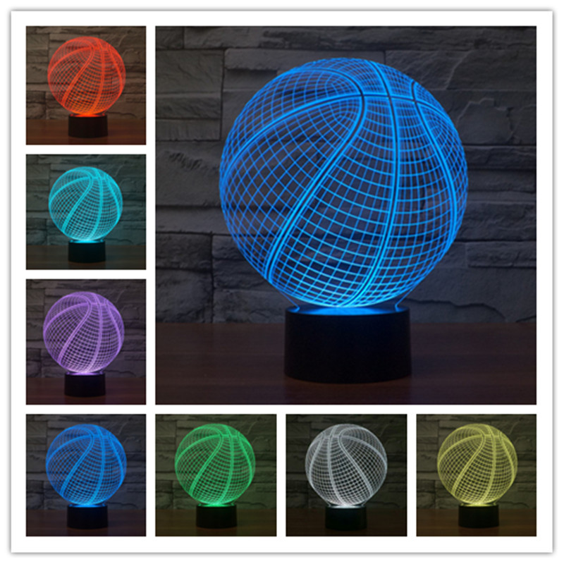 Lights & Lighting 3d Lamp Night Light The White Table Lamp House Colorful 3d Lights Led Acrylic Gift Nightlight Tiffanylampe Vintage Table Lamp Attractive Designs;