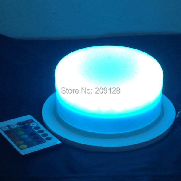 175mm multi color led light with remote controller inside car or furniture to bright