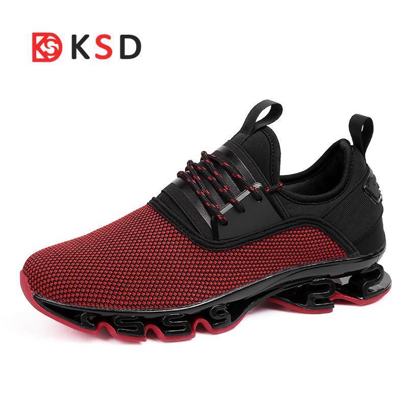 605a20882f 2018 New Super Cool Breathable Running Shoes Men Sneakers Bounce ...
