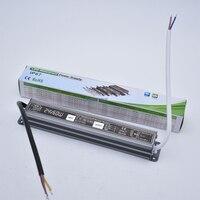 60W Waterproof Power Supply IP67 AC110V 220V LED Driver Lighting Transformer Adapter 12V 24V DC Output