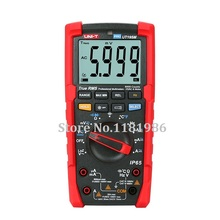 UNI-T UT195M UT-195M Industrial Waterproof True RMS Digital Multimeter Flashlight / Temperature Measurement / LoZ Measurement victor vc890c digital multimeter true multimeter capacitor temperature measurement multimeter digital professional