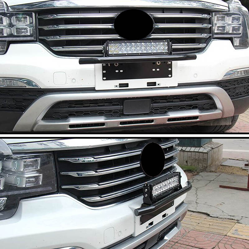 Espeeder front bumper license plate mount bracket holder bull bar espeeder front bumper license plate mount bracket holder bull bar front bumper fog offroad light bar in license plate from automobiles motorcycles on mozeypictures Images