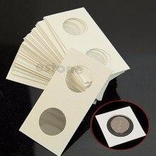 Paper-Bags Case Coin-Holders Home-Decor Storage-Clip Flip-2x2 50pcs