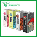 Original Woody Vapes Stabilized Wood X200 TC Box MOD w/ USA made Gene chip 200W Stabilized wood box mod