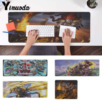 Yinuoda Your Own Mats keyforge game Gaming Player desk laptop Rubber Mouse Mat Keyboards Pad Rubber Anime mousepad Desk Mat