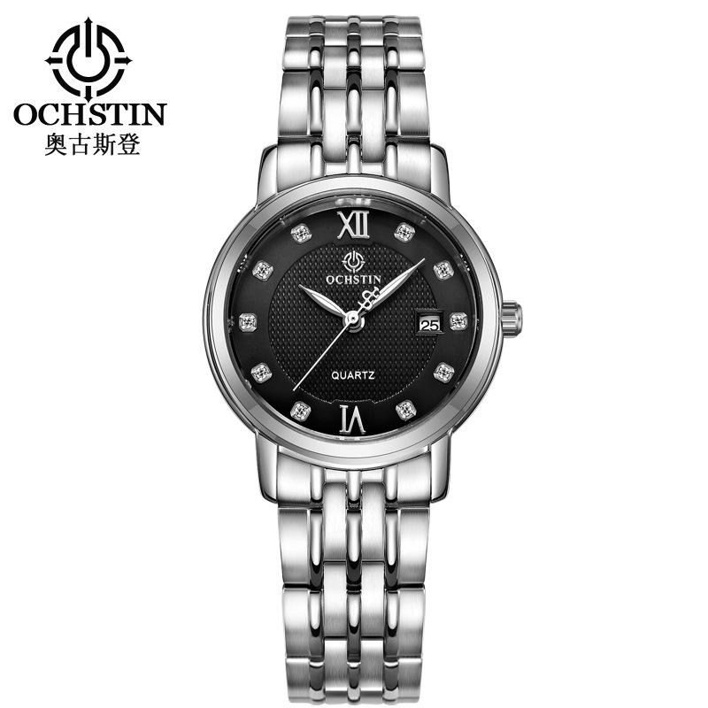 Watch Women Fashion Stainless Steel Ladies Watch Luxury Exquisite Women's Watches Augustine steel sapphire glass gift tophill switzerland movement luxury watch classic sapphire glass women quartz wrist watch 316 stainless steel case watch ab1866