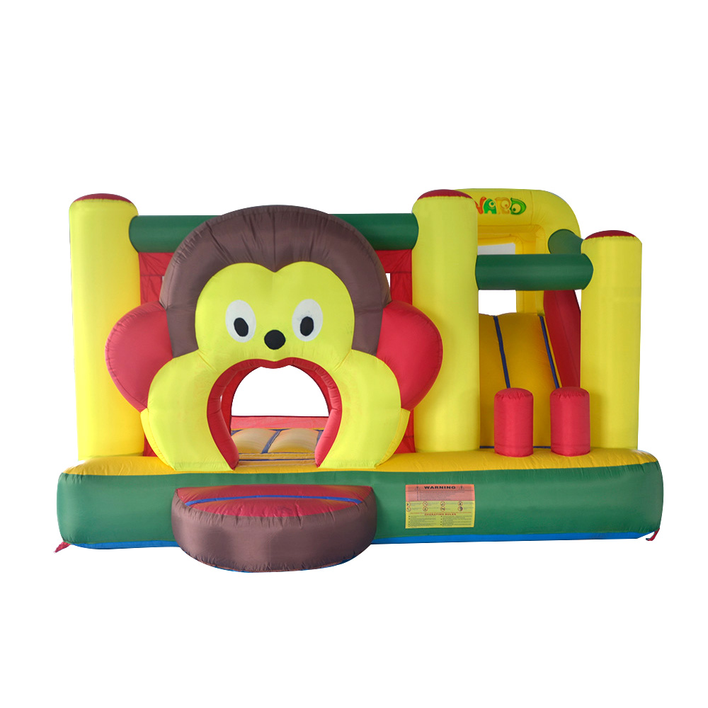 Monkey Inflatable Bouncy Castle Jumping Bounce House Inflatable Bouncer Moonwalk Jumper Top Quality for Children пеленки наша мама впитывающие одноразовые 60х90 см 5 шт
