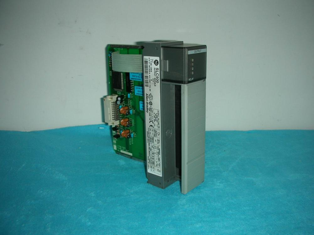 1PC USED PLC 1746-OW4 AB 1pc used ab plc nx7 28edt