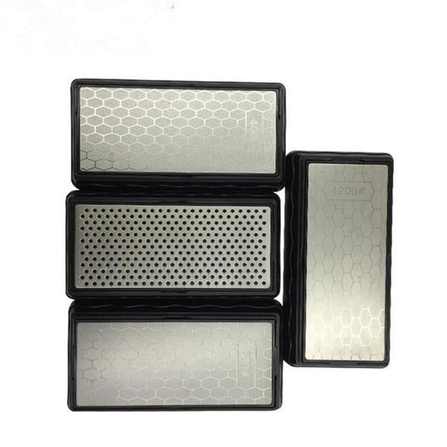 Sharpening Stone Double-Side Sharpener Diamond Whetstones Kitchen Accessories Diamond Knife Sharpener