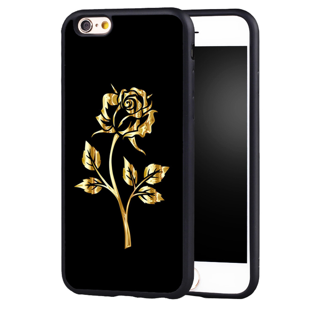 reputable site d995b d539a US $4.99  golden Rose beauty beast Belle original protect edge Cases cover  for Samsung Galaxy s4 s5 s6 edge S7 S7edge S8 S8plus-in Fitted Cases from  ...