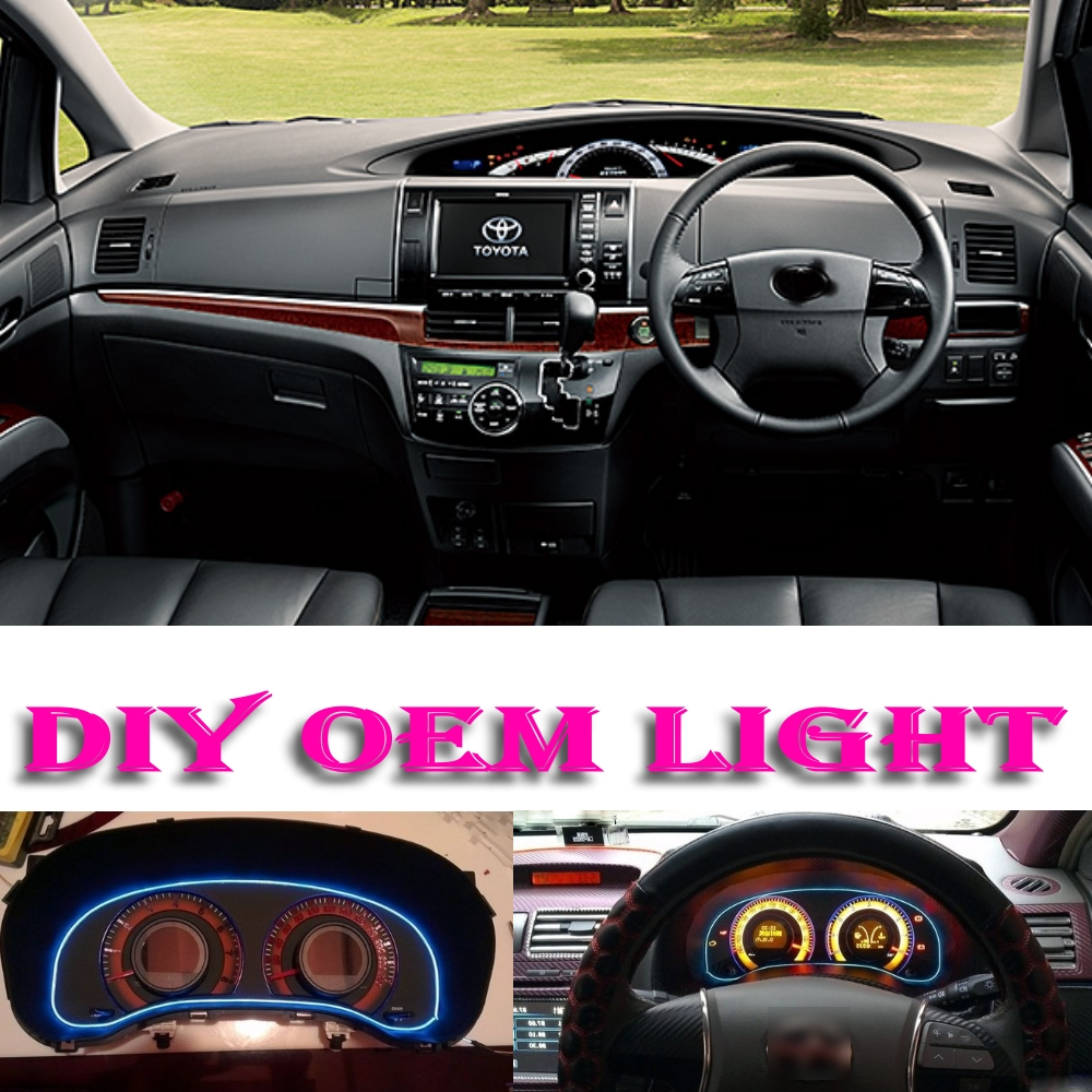 Car Atmosphere Light Flexible Neon Light EL Wire Interior