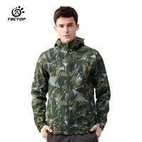 Tectop camping Soft shell Jackets Waterproof Clothing Softshell Jacket