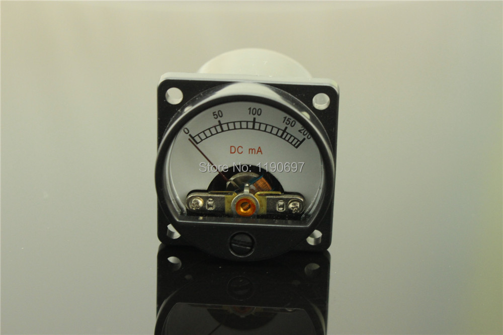 1Piece 200MA Ammeter Audio Level Meter 6-12V Audio Level With Warm BackLight Free Shipping pocahontas level 6